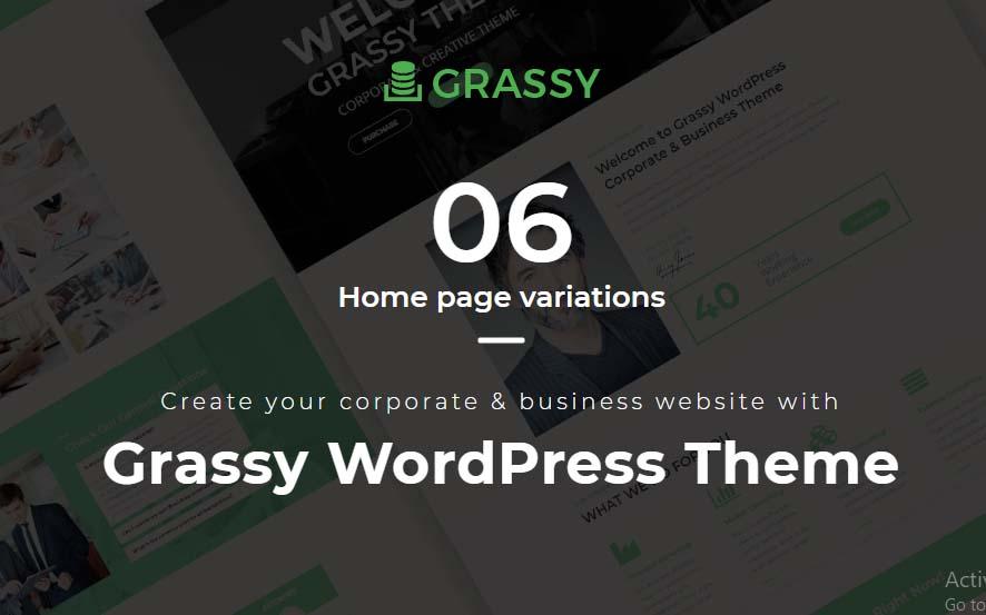 Grassy WordPress Theme